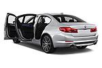 Car images close up view of a 2018 BMW 5 Series Plug-In Hybrid 530e Sport 4 Door Sedan doors