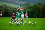 Action from Castlegregory v Cromane in the Junior Football Championship Group 2 game