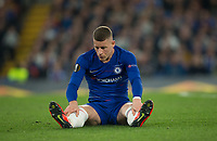 Ross BARKLEY of Chelsea during the UEFA Europa League match between Chelsea and Slavia Prague at Stamford Bridge, London, England on 18 April 2019. Photo by Andy Rowland / PRiME Media Images.<br /> .<br /> .<br /> Editorial use only, license required for commercial use. No use in betting,<br /> games or a single club/league/player publications.'