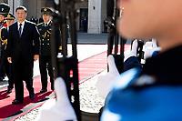 Xi Jinping <br /> Rome March 22nd 2019. The President of the ChineseDemocratic Republic visits the President of the Italian Republic at Quirinale.<br /> photo di Paolo Giandotti/Presidenza della Repubblica/Inside
