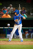 South Bend Cubs right fielder Brandon Cummins (11) at bat during a game against the Clinton LumberKings on May 5, 2017 at Four Winds Field in South Bend, Indiana.  South Bend defeated Clinton 7-6 in nineteen innings.  (Mike Janes/Four Seam Images)