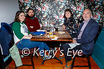 Aisling Kelly, Aaron Moloney, Susan and Aidan Kelly enjoying the evening in Croi on Saturday.