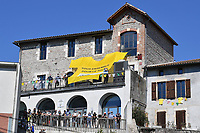 5th September 2020, Grand Colombier, France;  Illustration picture at the start of stage 8 of the 107th edition of the 2020 Tour de France cycling race, a stage of 140 kms with start in Cazeres-sur-Garonne and finish in Loudenvielle