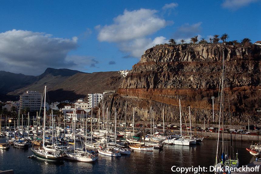 Hafen von San Sebastian, Gomera, Kanarische Inseln, Spanien