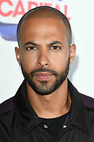 LONDON, UK. June 08, 2019: Marvin Humes poses on the media line before performing at the Summertime Ball 2019 at Wembley Arena, London<br /> Picture: Steve Vas/Featureflash