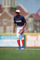 Henry Morales (11) during the Dominican Prospect League Elite Underclass International Series, powered by Baseball Factory, on August 31, 2017 at Silver Cross Field in Joliet, Illinois.  (Mike Janes/Four Seam Images)