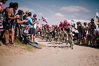 Team EF Education First -DRAPAC p/b cannondale on pavé sector #2<br /> <br /> Stage 9: Arras Citadelle > Roubaix (154km)<br /> <br /> 105th Tour de France 2018<br /> ©kramon