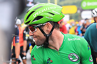 3rd July 2021; Oyonnax, Auvergne-Rhône-Alpes, France; TOUR DE FRANCE 2021 UCI Cycling World Tour Stage 8  from Oyonnax to Le Grand Bornand; <br /> Mark Cavendish (GBR) DQT