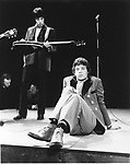 Rolling Stones 1967 Mick Jagger and Bill Wyman on Top Of The Pops..