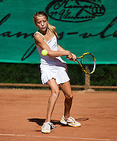 05-08-13, Netherlands, Dordrecht,  TV Desh, Tennis, NJK, National Junior Tennis Championships, Tamara Krielen <br /> <br /> <br /> Photo: Henk Koster