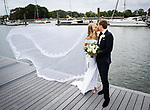 Brit and Albert's September Wedding<br /> New York Athletic Club<br /> Travers Island, Pelham, NY