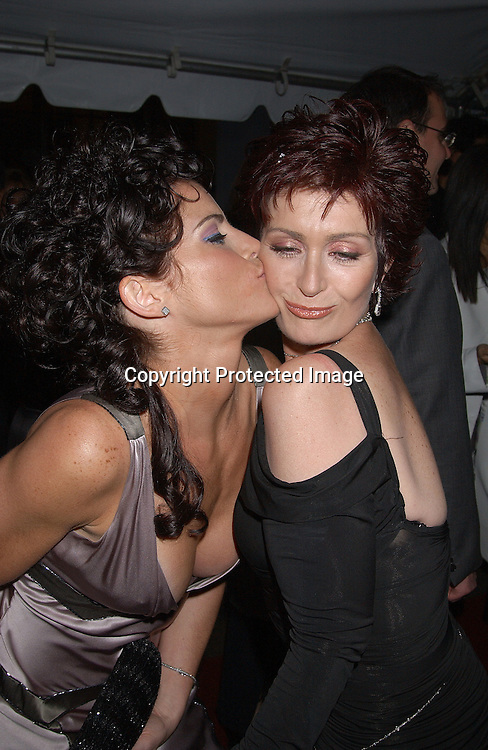 Lesli Kay & Sharon Osbourne                                ..arriving at Radio City Music Hall for The Daytime Emmy Awards on May 16,2003 ..Photo by Robin Platzer, Twin Images
