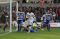 Pictured: Jason Scotland of Swansea City in action<br /> Re: Coca Cola Championship, Swansea City FC v Doncaster Rovers at the Liberty Stadium. Swansea, south Wales, Saturday 21 February 2009<br /> Picture by D Legakis Photography / Athena Picture Agency, Swansea 07815441513