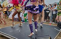 Carnaval brésilien a Montréal, 28 aout 2021<br /> <br /> PHOTO : Agence Quebec Presse - Pierre Tran