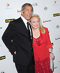 Mel Gibson and Jacki Weaver attends The G'Day USA Black Tie Gala held at  JW Marriot at LA Live in Los Angeles, California on January 11,2014                                                                               © 2014 Hollywood Press Agency