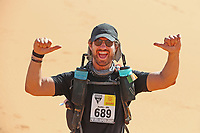 5th October 2021; Kourci Dial Zaid to Jebel El Mraier ; Justin KILDUFF (irl) Marathon des Sables, stage 3 of  a six-day, 251 km ultramarathon, which is approximately the distance of six regular marathons. The longest single stage is 91 km long. This multiday race is held every year in southern Morocco, in the Sahara Desert.