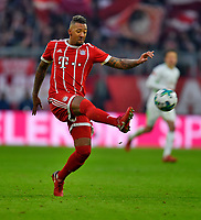 21.01.2018,  Football 1.Liga 2017/2018, 19. match day, FC Bayern Muenchen - SV Werder Bremen, in Allianz-Arena Muenchen. Jerome Boateng (FC Bayern Muenchen) . *** Local Caption *** © pixathlon<br /> <br /> +++ NED + SUI out !!! +++<br /> Contact: +49-40-22 63 02 60 , info@pixathlon.de