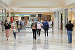 First visitors in the Xanadu Shopping Center in Madrid on the day of its reopening during the beginning of Phase 2 of the unconfinement during the health crisis due to the Covid-19 - Coronavirus pandemic. June 8,2020. (ALTERPHOTOS/Ricardo Blanco)