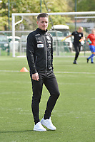 Zulte Waregem's head coach Angelo Gaytant  pictured during a female soccer game between SV Zulte - Waregem and RSC Anderlecht Dames on the second matchday of the 2020 - 2021 season of Belgian Scooore Women s SuperLeague , saturday 5 th of September 2020  in Zulte , Belgium . PHOTO SPORTPIX.BE | SPP | DIRK VUYLSTEKE