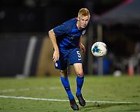 Miami, FL - Tuesday, October 15, 2019:  Justen Glad #5 during a friendly match between the USMNT U-23 and El Salvador at FIU Soccer Stadium.