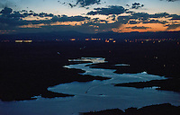 Sunset on Lake Pueblo, Friday the 13th. June 2014. 85170