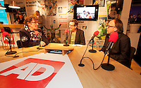 Februari 12, 2015, Netherlands, Rotterdam, Ahoy, ABN AMRO World Tennis Tournament, interview Willem van Hanegem<br /> Photo: Tennisimages/Henk Koster