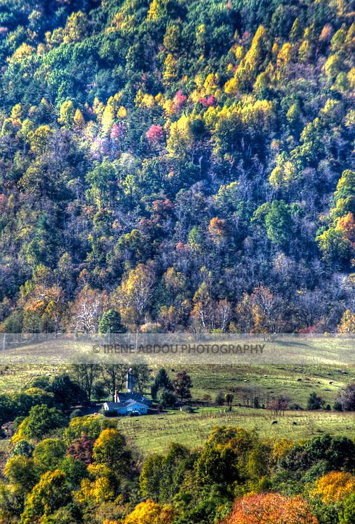 Farmhouse in the Shenandoah Valley, Virginia