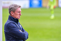head coach Francky Dury of Zulte-Waregem pictured during a friendly soccer game between Zulte Waregem and Sporting Charleroi during the preparations for the 2021-2022 season , on Saturday 10 th of July 2021 in Ingelmunster , Belgium . PHOTO STIJN AUDOOREN   SPORTPIX