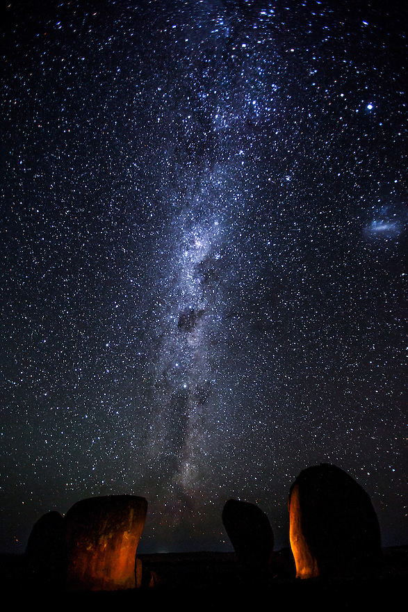 Milky Way over Murphy's Haystacks Australia