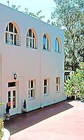 Irving Gill: Bishop's Day School, 1909. 3012 1st St., San Diego. Photo '78.
