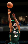 Reno Bighorns' Marcus Landry competes in the 3-point competition in the NBA D-League Showcase at the Reno Events Center, in Reno, Nev., on Wednesday Jan. 9, 2013. .Photo by Cathleen Allison
