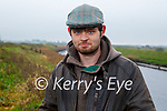 Aidan Prendeville stands at Ballinagare Bog which is the proposed site of a Wind Farm in the Lixnaw area.