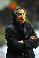 ATTENTION SPORTS PICTURE DESK<br /> Pictured: Paulo Sousa manager for Swansea<br /> Re: Coca Cola Championship, Swansea City Football Club v Plymouth Argyle at the Liberty Stadium, Swansea, south Wales. Tuesday 08 December 2009