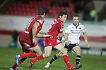 Stephen Jones..Heineken Cup.Scarlets v Munster.Parc y Scarlets.10.12.11.©Steve Pope