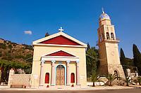 Neo Classical Orthodox churches. Kefalonia, Ionian Islands, Greece.