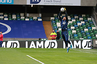 BELFAST, NORTHERN IRELAND - MARCH 28: Zack Steffen #1 of the United States before a game between Northern Ireland and USMNT at Windsor Park on March 28, 2021 in Belfast, Northern Ireland.