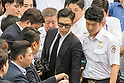 T.O.P. of BIGBANG leaves court after trial