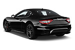Car pictures of rear three quarter view of a 2018 Maserati GranTurismo Sport 2 Door Coupe angular rear