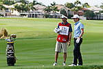 PALM BEACH GARDENS, FL. - Will Mackenzie and Caddy during Round Two play at the 2009 Honda Classic - PGA National Resort and Spa in Palm Beach Gardens, FL. on March 6, 2009.