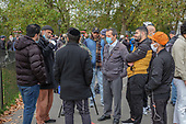 Speakers' Corner, Hyde Park, London during the Coronavirus pandemic.
