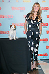 "Spanish Actress Patricia Conde and Cook the dog attends thethe photocall of the presentation of the movie ""Pancho El Perro Millonario"" at the NH Palacio de Tepa Hotel in Madrid, Spain. June 3, 2014. (ALTERPHOTOS/Carlos Dafonte)"