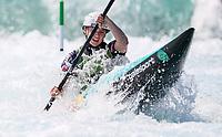 Evy Leibfarth. K1. Oceania Canoe Slalom Championships, Whero Whitewater Park, Auckland, New Zealand, 1st February 2020. Photo: Simon Watts/www.bwmedia.co.nz