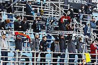 SAINT PAUL, MN - APRIL 24: Minnesota United Fans during a game between Real Salt Lake and Minnesota United FC at Allianz Field on April 24, 2021 in Saint Paul, Minnesota.
