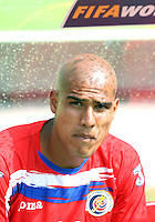 Douglas Sequeira of Costa Rica. Poland defeated Costa Rica 2-1 in their FIFA World Cup Group A match at FIFA World Cup Stadium, Hanover, Germany, June 20, 2006.