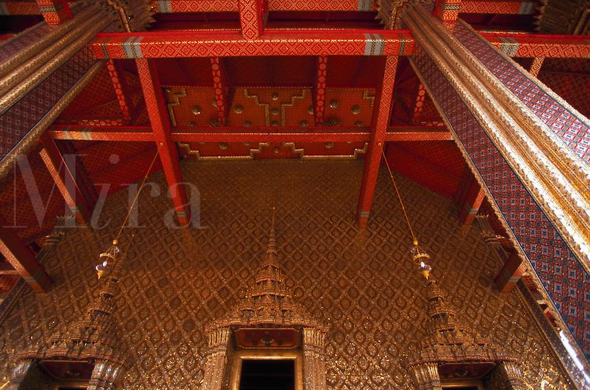 Wat Phra Kaew, Temple of the Emerald Buddha, Bangkok, Thailand