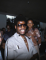 September 1978: Portrait of American heavyweight boxer LEON SPINKS before his second fight with Ali, New Orleans, USA