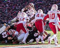 Athens, GA - November 19, 2016: University of Georgia Bulldogs play the Louisiana Lafayette Ragin' Cajuns at Sanford Stadium.  Final score Georgia 35, Louisiana Lafayette 21.