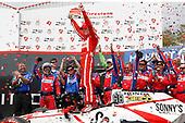 2017 Verizon IndyCar Series - Firestone Grand Prix of St. Petersburg<br /> St. Petersburg, FL USA<br /> Sunday 12 March 2017<br /> Sebastien Bourdais, Victory Lane<br /> World Copyright: Michael L. Levitt<br /> LAT Images<br /> ref: Digital Image levitt-0317-stp_14875