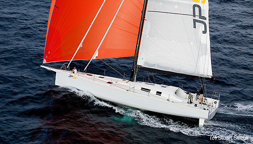 Jean-Pierre Dick's JP 54 The Kid took line honours in the Malta Coastal Race on Wednesday, and placed third overall
