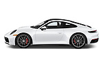 Car driver side profile view of a 2020 Porsche 911 Carrera S 2 Door Coupe